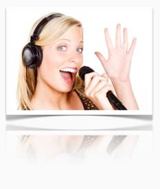 Gesangsübungen und Artikulation