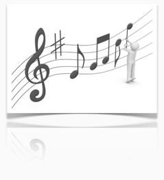 Gesangsübungen und die Tonhöhe